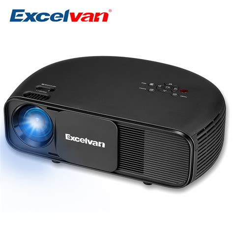 Proyektor Cl720 excelvan cl760 hd lcd led projector 3200 lumen 1080p