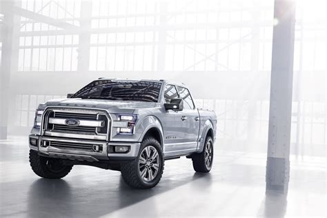 future ford f150 ford atlas concept unveiled previews next f 150 photo