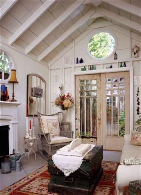 she shed interiors 20 inspiring she sheds living the country life fireplace