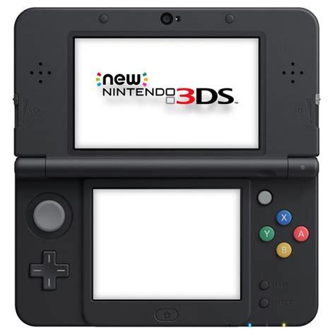 ds 3d console nintendo new 3ds console black gamechanger
