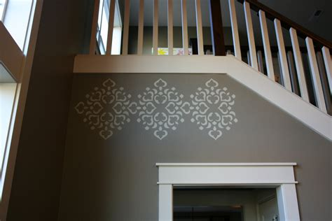 dining room stencils the handcrafted i just can t help myself