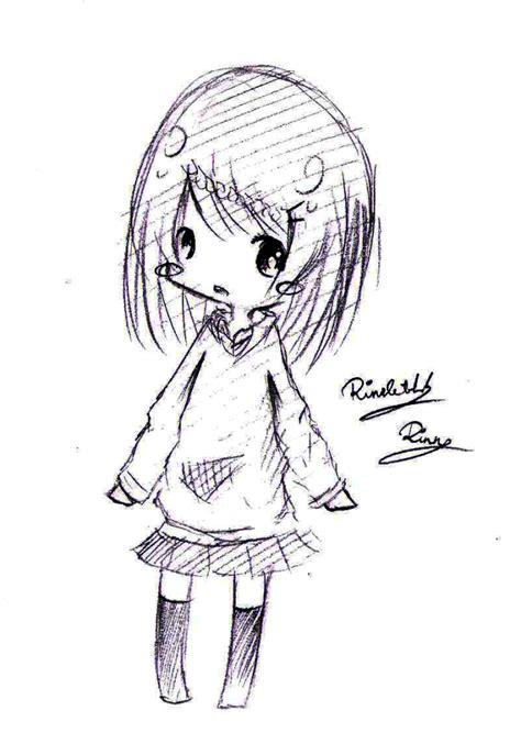 sketch chibi by rinnette on deviantart