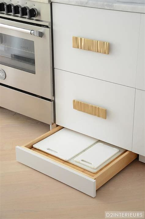 Kitchen Cabinet Drawer Guides by Kitchen With Cutting Board Drawer Contemporary Kitchen