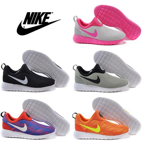 Sepatu Sport Santai Nike Roshe Run Slip On Grade Ori Murah nike roshe run slip on running shoes 100 original cheap lazy sneakers 2016 new