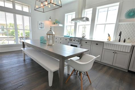 gray kitchen table gray dining table cottage kitchen lollygag house