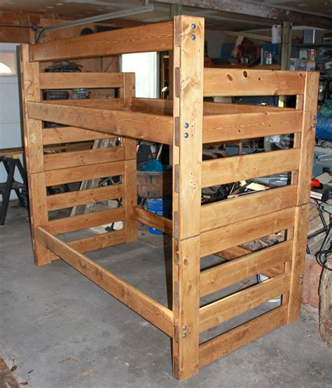modular bunk beds pdf modular bunk bed plans plans free