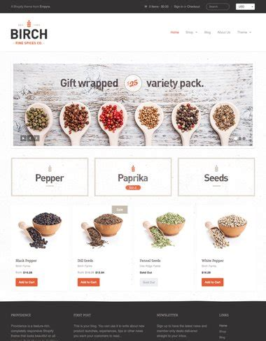 providence theme shopify 100 premium shopify themes for ecommerce stores