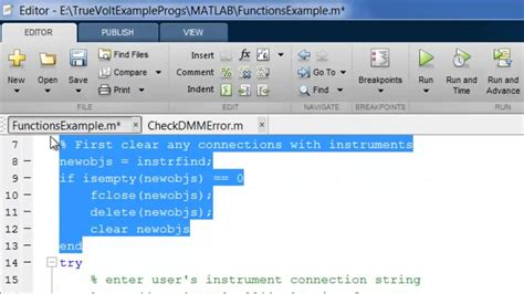 Matlab Programmer by Digital Multimeter Matlab Programming Exle