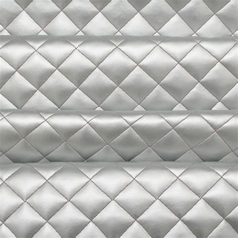 quilted padded faux leather upholstery fabric i