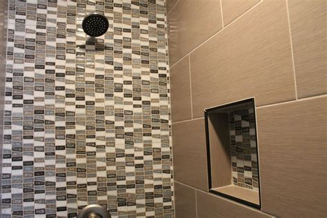 what s in tile showers right now and other flooring