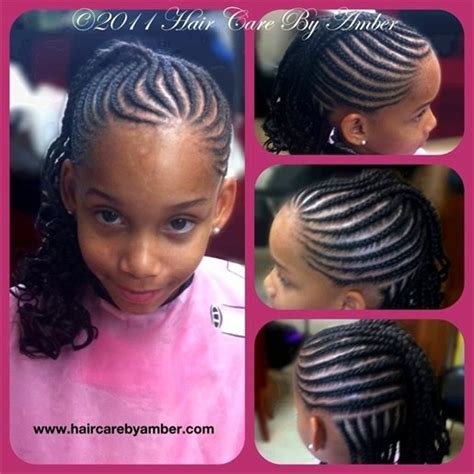 cute ways to style curly micro braids 72 best natural kids cornrow mohawk images on pinterest
