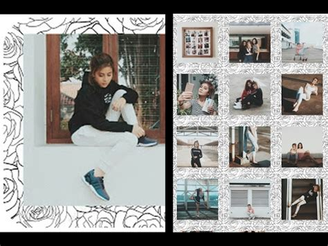 cara edit foto couple edit foto ala awkarin cara membuat frame instagram ala