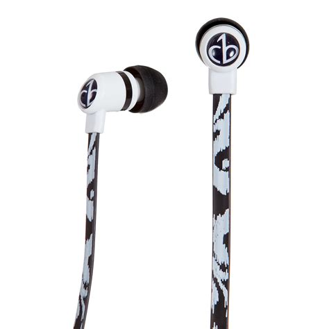 Chicbuds Arts Earbuds With Microphone Leandra chicbuds arts earbuds with microphone black ikat