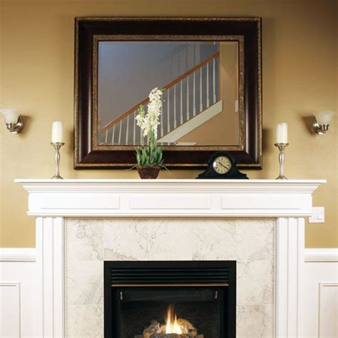 custom size mirror fireplace mirrors