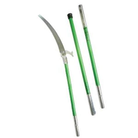 Home Depot Pole Ls landscaper pole saw package with three 6 ft poles ls 6pkg 6 the home depot