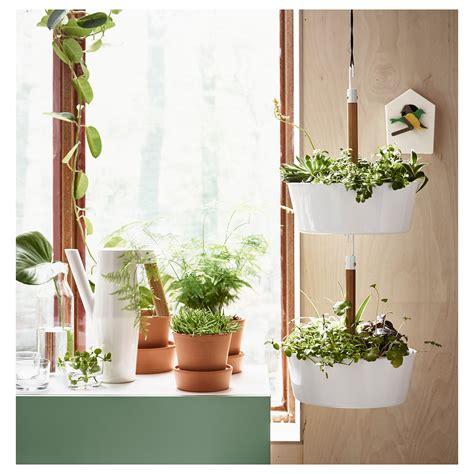 ikea outdoor planters bittergurka hanging planter white ikea