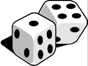 Rolling dice clipart clipart panda free clipart images