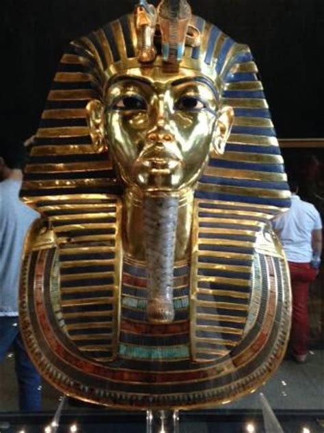 See Tut The Boy King In Philadelphia by Mask Of Tutankhamun S Mummy Picture Of