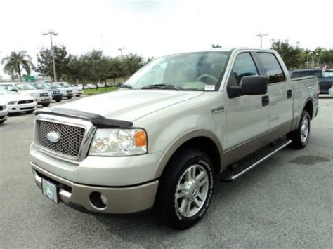 2006 F150 Specs by 2006 Ford F150 Lariat Supercrew Data Info And Specs