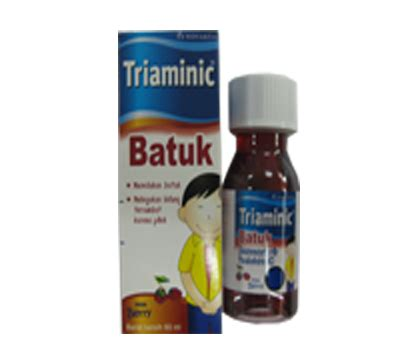 Obat Uh Flu Dan Pilek triaminic batuk apotek gentan