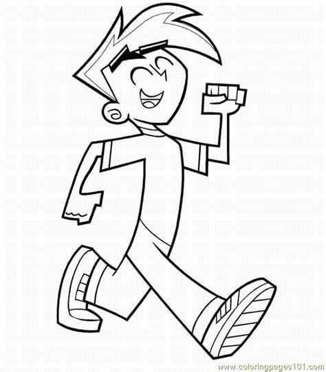 Danny Phantom Coloring Pages Coloring Home Danny Phantom Coloring Pages