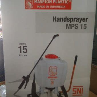 Harga Sprayer Maspion 14 Liter jual alat semprot tanaman hama kapasitas 15 liter