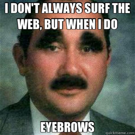 Bushy Eyebrows Meme - real life pictures page 89 ffxiv arr forum final