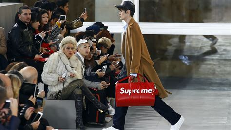 supreme streetwear in supreme s collaboration with louis vuitton high
