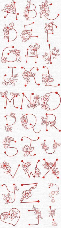 alphabet letters to print embroidery pattern pretty daisies embroidery free 1073