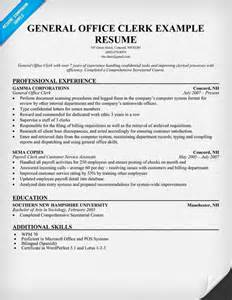 Sample Clerk Resume clerk resume resumecompanion com resume example job stuff clerk