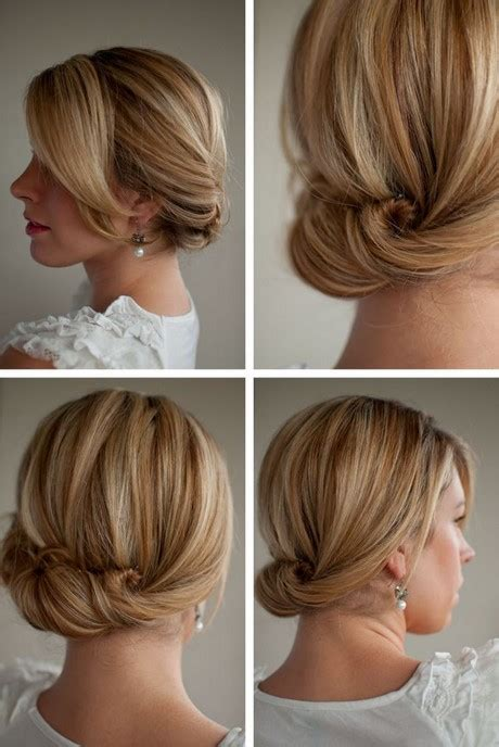easy hairstyles at home for short hair hairstyles for short hair at home