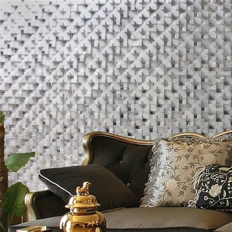 glass mosaic tile gray 3d bathroom wall tiles