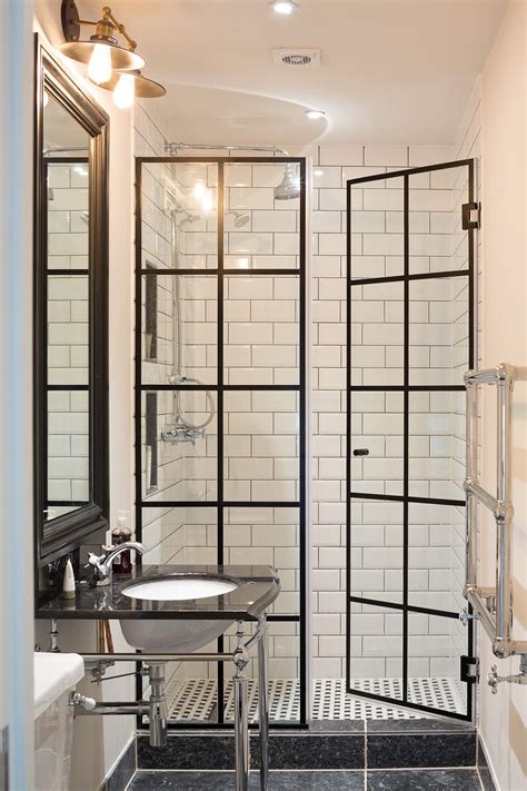 Take Standard Shower Doors And Add Lead Flashing For Standard Shower Doors