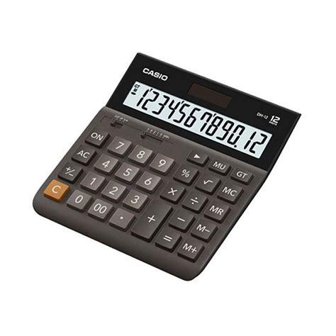 Kalkulator Casio Mz 12s 12 Digit jual casio dh 12 kalkulator harga kualitas terjamin blibli