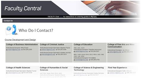 quot faculty central quot portal in blackboard provides resources