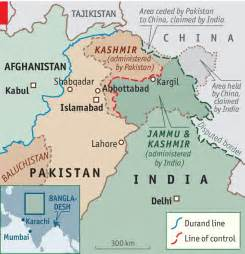Kashmir India Map by India Cannot Stand Media Neutrality On Kashmir Border