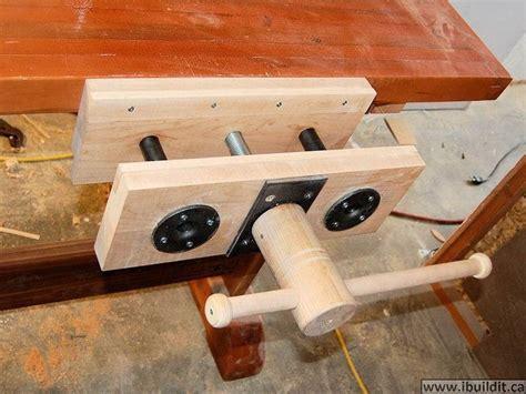 bench vise plans wood vise plans homemade wood vise pdf plans