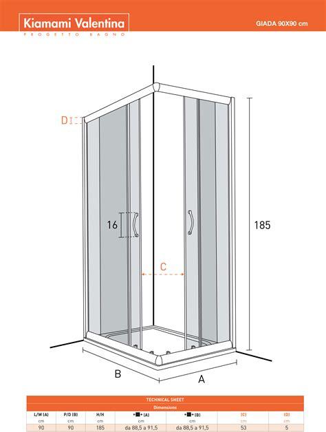 box doccia vetro temperato prezzi box doccia 90x90 con vetro temperato trasparente kv store