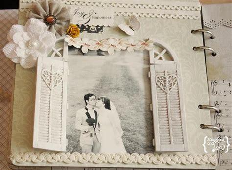 vintage wedding scrapbook, vintage scrapbook, #vintage #
