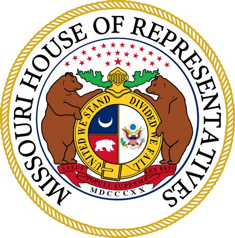 missouri house of representatives file seal of the missouri house of representatives svg wikipedia