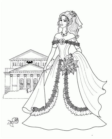 Princess Coloring Pages Az Coloring Pages