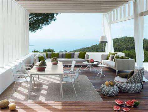 dedon outdoor furniture lisa cox garden designs blog