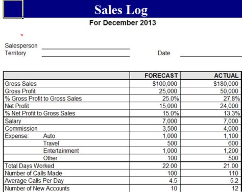 sales record template 5 sales log templates formats exles in word excel