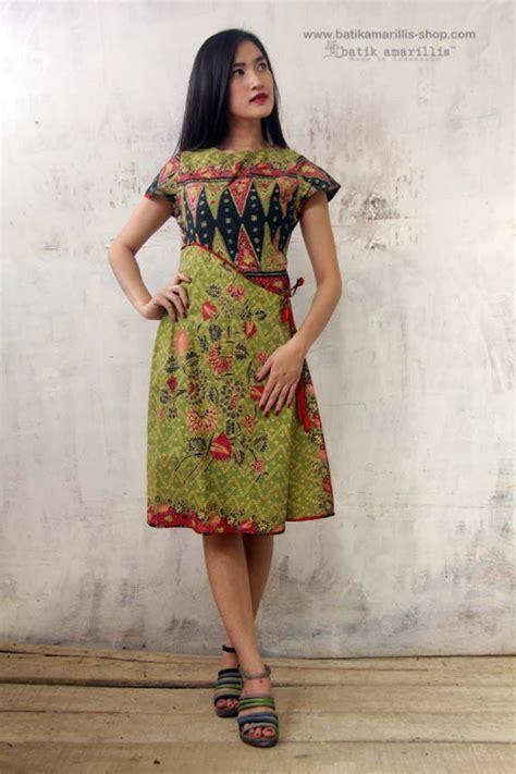 Dress Maxi Wanita Muslim Busui Motif Aziza Batik Xl Jumbo Coklat batik amarillis made in indonesia indonesia indonesia batik dress and kebaya