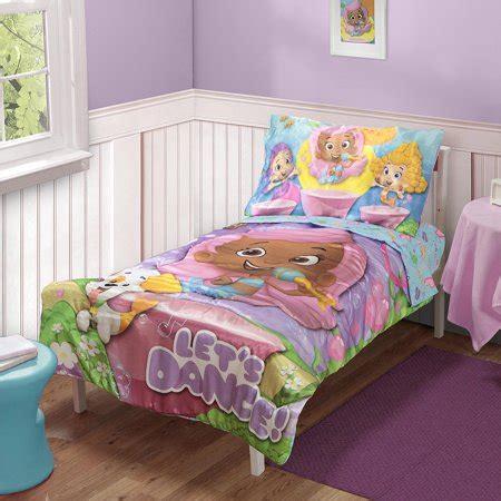 bubble guppies  pc toddler bedding set walmartcom