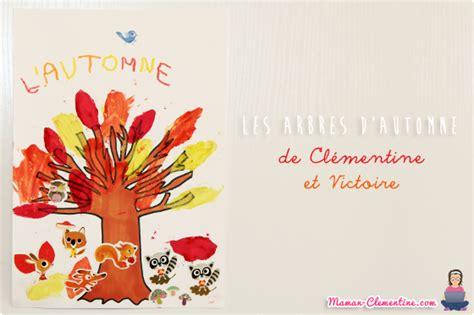 Arbre De La Clementine by Les Arbres D Automne De Cl 233 Mentine Et Victoire Diy