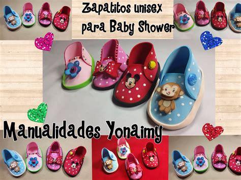 Zapatitos Unisex Para Baby Shower De Foamy O Goma Eva Videomoviles | zapatitos unisex para baby shower de foamy o goma eva