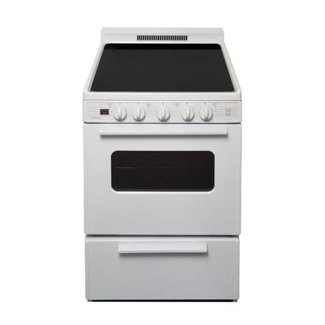 top electric ranges premier 24 in 2 97 cu ft freestanding smooth top