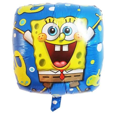 Balon Karakter Zebra sponge bob mavi folyo balon temalı folyo balon balon