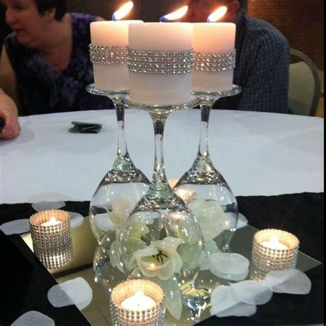 mirror centerpieces for tables best 25 wedding table centerpieces ideas on